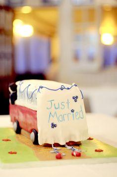 wedding cake vw-van