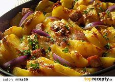 Junk Food To Avoid Tvarůžkové brambory recept - TopRecepty. Foods To Avoid, Junk Food, No Cook Meals, Gnocchi, Potato Salad, Health Tips, Healthy Lifestyle, Healthy Living, Potatoes