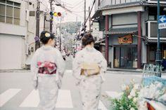 着物で京都散策