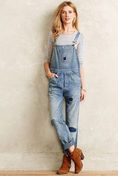 Levi's Vintage Bib & Brace Overalls 5th Ave.  #AnthroFave