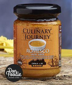 Salsa Romesco Culinary Journey #productos #calidad #comida #food #gourmet #healthy #salsas  #sabor #flavour #especias #alimentacion #foodies