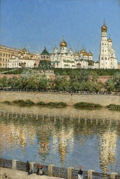 View of the Kremlin, Vasily Vasilievich Vereshchagin