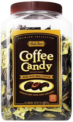 Bali's Best Assorted Coffee Candy Jar, 300ct Jar *** Check out this great product.