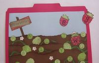 Berry Patch File Folder game