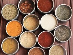 Spice up your spice cabinet with this DIY spice organization using tins and chalkboard paint