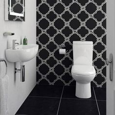 Cool Cloakroom Suite - Short Projection Toilet with 45cm Slimline 1TH Basin