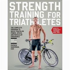 $10.22 · Strength Training for Triathletes offers a comprehensive strength training program for triathlon that will help triathletes build power, speed, and muscular endurance for faster racing over any race distance. Certified USA Triathlon coach and NSCA Personal Trainer of the Year Patrick Hagerman, EdD, reveals a focused, triathlon-specific strength training program that will enable triathletes to push harder during training and on the racecourse when the effort is hardest. Triat.. Triathlon Training Program, Strength Training Program, Training Programs, Ironman Triathlon Motivation, Sprint Triathlon, Race Training, Training Equipment, Marathon Training, Triathlon Humor