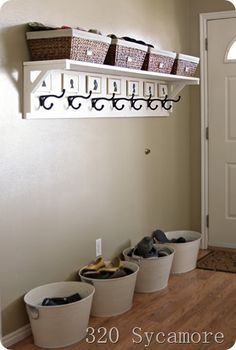 Simple Entryway Solutions And Organization