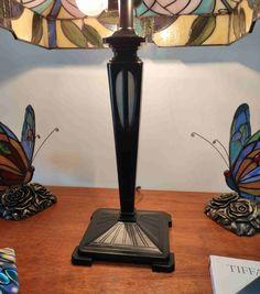 Lampada da Tavolo Tiffany con Fiori 248