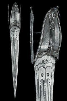 HanweiViking Short Bladed Thrusting Spearhead /'Niello/' Pattern Reenactment