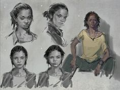Concept art is often ignored and look down by people. However it is a beautiful area of art, because they are like the little seeds that are later gonna bloom into beautiful animations for video games or movies. The research that goes into creating new characters and information is a quite fascinating process.