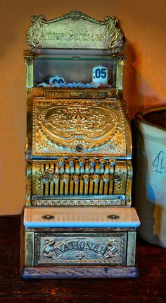 Antique Cash Register by Dave Mills