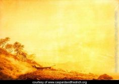 Cape Arkona at Sunrise - Caspar David Friedrich - www.caspardavidfriedrich.org