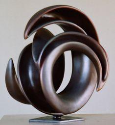 Hibernating taniwha - abstract Bronze Sculpture by Trevor Askin Abstract Sculpture, Bronze Sculpture, Small Sculptures, Public Garden, Centre Pieces, Fine Art Gallery, Wax Melts, Blacksmithing, Sculpting