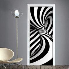 Interior Walls, Home Interior, Interior Decorating, Interior Design, Wall Painting Decor, Home Decor Wall Art, Room Decor, Door Murals, Mural Wall Art