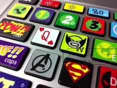 keyboard decal mac pro decals stickers sticker Apple Mac laptop vinyl 3M purple Nebula Universe Galaxy