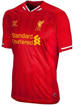 c144e8f3584 Premier League Shirts - 2013 14 - Liverpool Home Football Kits