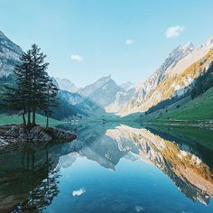 Seealpsee, Switzerland [ @andrestummer ]                              …