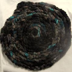Storm - SHROPSHIRE   Hand Painted combed top/roving 100g by YummyYarnsUK on Etsy, £7.99