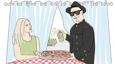 Ruokaväärennökset - illustration @ Stina Tuominen