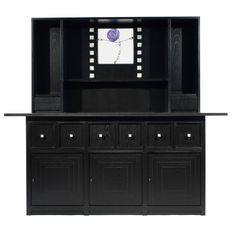 Charles Rennie Mackintosh, Cassina, D.S.5 Sideboard with Hutch | From a unique collection of antique and modern sideboards at https://www.1stdibs.com/furniture/storage-case-pieces/sideboards/