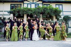 Fun bridal party shots are a must! no jumping! Bridesmaids, Bridesmaid Dresses, Wedding Dresses, Large Bridal Parties, Party Shots, Marrying My Best Friend, Bridal Portraits, Marry Me, Wedding Photos