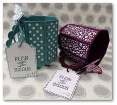 We are no more than a few days of Easter! So it& still time to prepare some small touches for those you love … - Craft Box, Craft Sale, Hot Chocolate Mug, Couple Mugs, Diy Mugs, Envelope Punch Board, Pretty Box, Stamping Up, Box Packaging