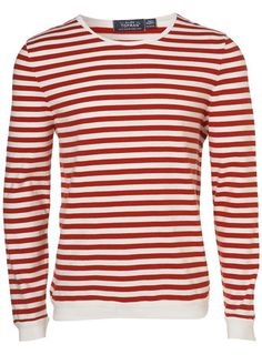 Red/White Striped T-Shirt