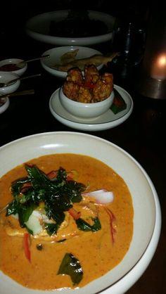 Fish and fritters Bambu restaurant Seminyak