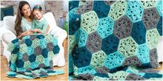 Beauty Blanket Floral Throw | Your Crochet