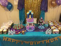 Jasmine and Aladdin themed birthday party