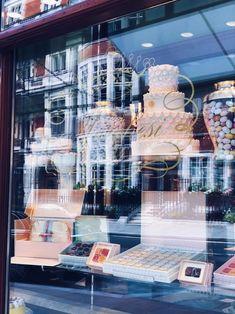 Mayfair news! The Prada patisserie, Marchesi 1824 just opened in Mount Street. Polo Store, Mayfair London, Bond Street, World's Fair, Tea Cakes, Facade, Prada, Old Things, Instagram