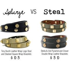 """Splurge VS Steal: Tory Burch and Stella & Dot"" by stellashea on Polyvore"