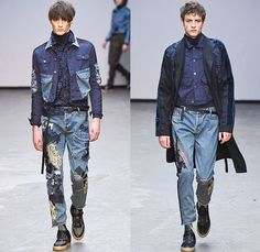 Buy man distressed jeans Asos Zalando, Valentino, Gucci, Margiela catwalk looks shopping, Pepe Jeans, menswear trend, how to style advice