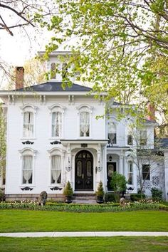 Beautiful white Victorian!