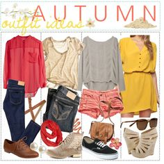 Autumn Outfit Ideas, ♥ by the-polyvore-tipgirls on Polyvore