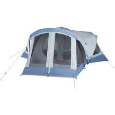 Ozark Trail 18' x 18' Family Tent, Sleeps 14, Blue