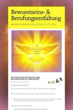 Bewusstseins- & Berufungsentfaltung - *NEU* by Brigitte Ilseja Steiner Education, Beautiful, Amp, Running Away, Consciousness, Addiction, Onderwijs, Learning