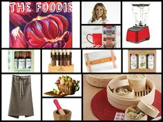 FOODIE GIFTS!!! http://ospa.me/1wGiRBo IMUSA Target studiopatro The Fruit Company Amoretti Zhena's Gypsy Tea TheSpiceLab.com La Tourangelle Blendtec Michy's La Boite NY