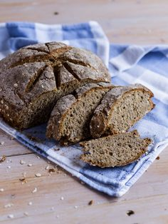 Рецепт - Цельнозерновой содовый хлеб с овсяными хлопьями