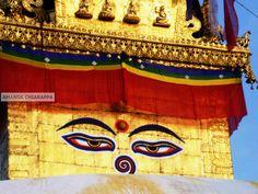Travel Photography Nepal Swayambunath 8x10 by SnapshotsOfTheWorld, $20.00