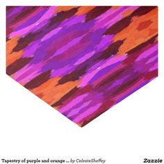 "Tapestry of purple and orange tissue paper 10"" x 15"" tissue paper (sold 2 _AZ) thank you!"