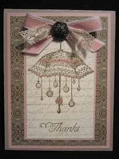 """""""Rue Des Fleurs"""" is one of my favorite stamp sets from the SU Occasions Mini."""