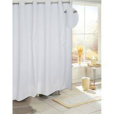 Carnation Home Fashions Ez On Eva Vinyl Shower Curtain with Build in Hooks - SCEZ-SEVA/08