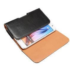 Leather Pouch Men Belt Clip Magnet Bag for Samsung Galaxy S7 edge/S7/S6 edge/S6/S5/I9082 Phone Case for Cell Phone Smartphone