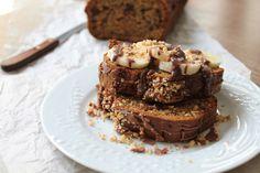 Κέικ Μπανάνας με Σοκολάτα | Delicious, healthy Banana Bread with Chocolate