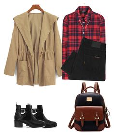 """Untitled #56"" by abzhozay on Polyvore featuring WithChic, A.P.C., Nudie Jeans Co., Pull&Bear and Sydney Evan"