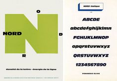 Roger Excoffon - Typo Nord