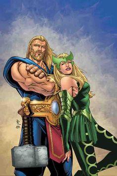 Thor & Enchantress