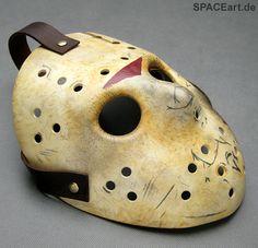 Freitag der 13. (Teil 7): Jason Voorhees Maske http://spaceart.de/produkte/fdd003.php